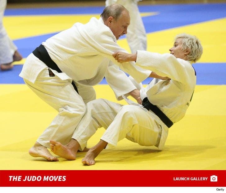 Vladimir Putin's Judo Moves