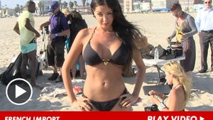 French Model Nabilla Benattia -- Every Big Boobed Hottie Needs a Theme