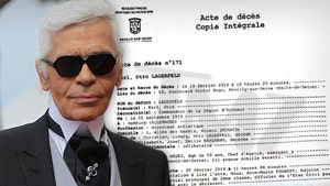 Fashion Designer Karl Lagerfeld's Death Certificate Cements French Legacy