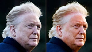 Trump's 'Orange Face' Photo Appears Edited to Show Stark Contrast