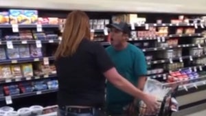 Maskless Man in Grocery Store Screams F-Bombs in Clerk's Face, Gets Booted
