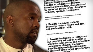 Kanye West Seeks Donations, Takes Stands on 2020 Presidential Issues