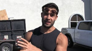 Britney's BF Sam Asghari Roasts Pap's Suggestion They're Engaged