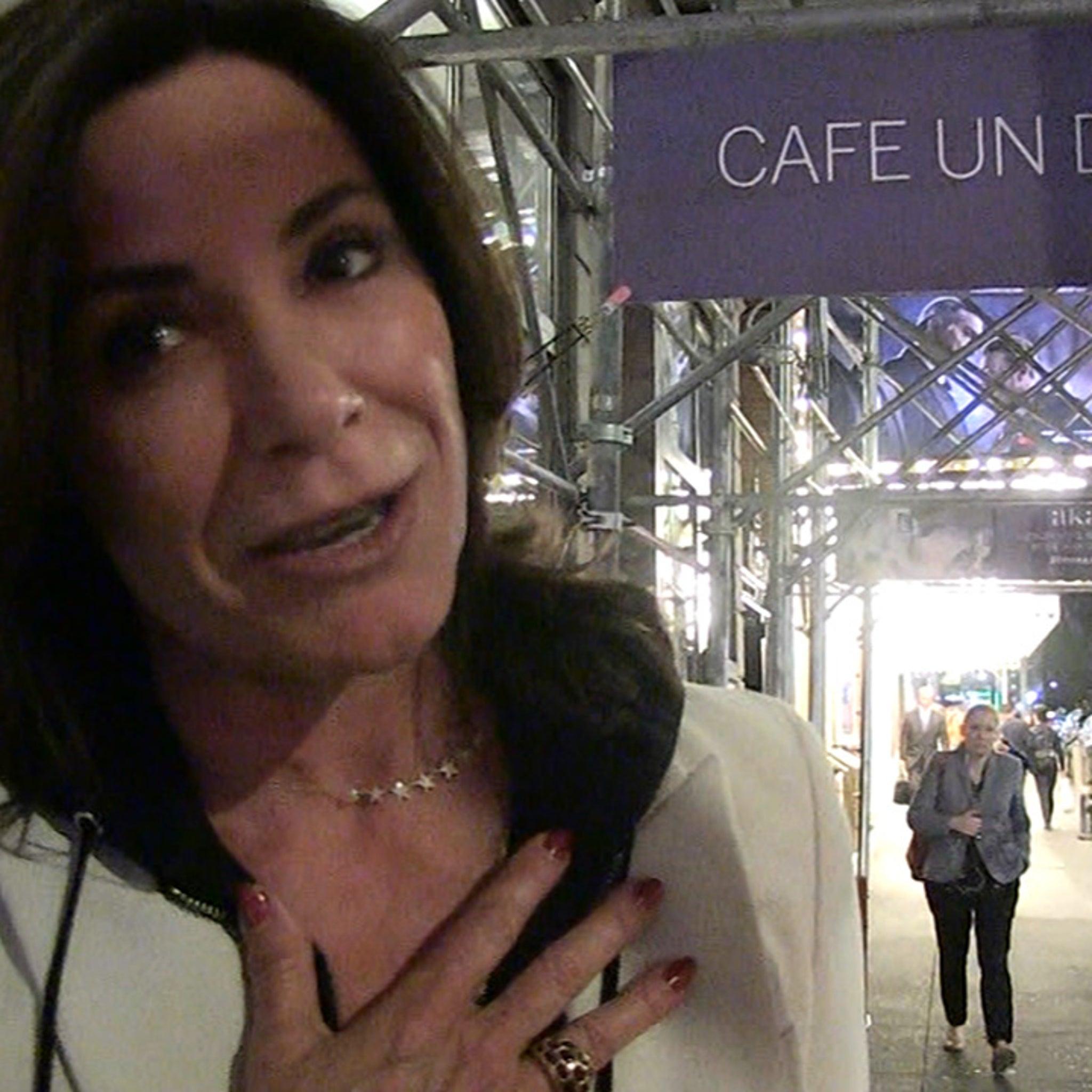 Luann de Lesseps Says She's Dating Her Ex-Boyfriend, Rich Super, Again