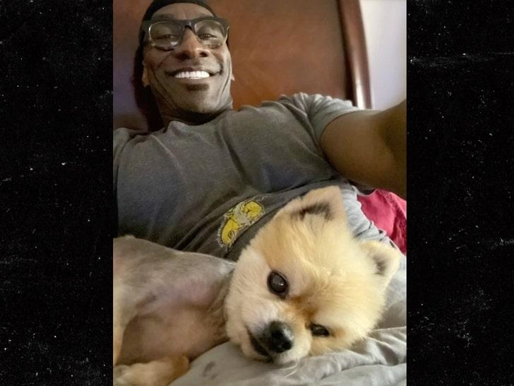 Shannon sharpe's dog dies