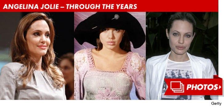 Angelina Jolie -- Through the Years