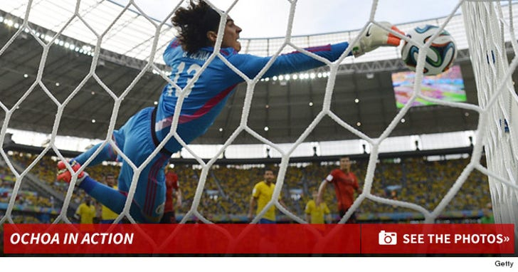 Guillermo Ochoa Saves The Day