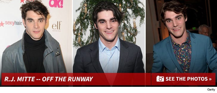 R.J. Mitte -- Off The Runway