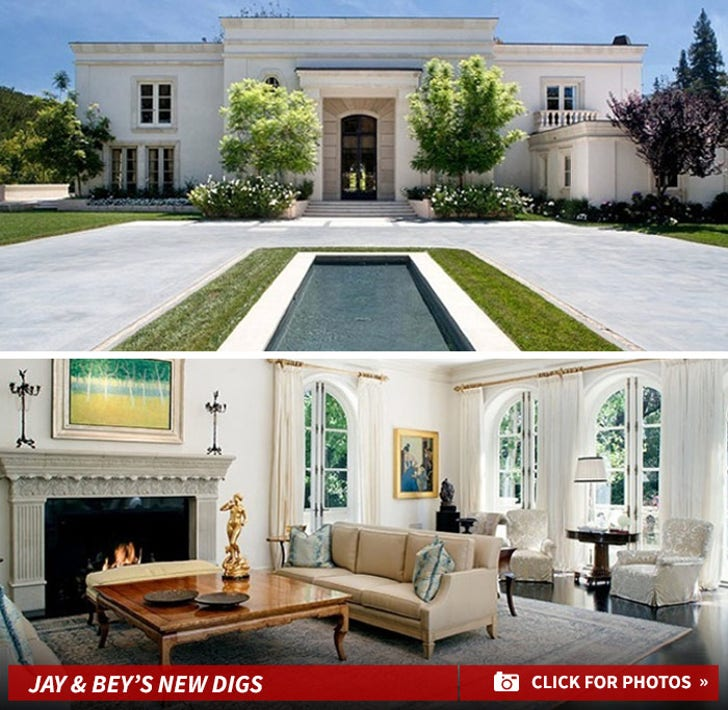 Jay Z and Beyonce's New Home
