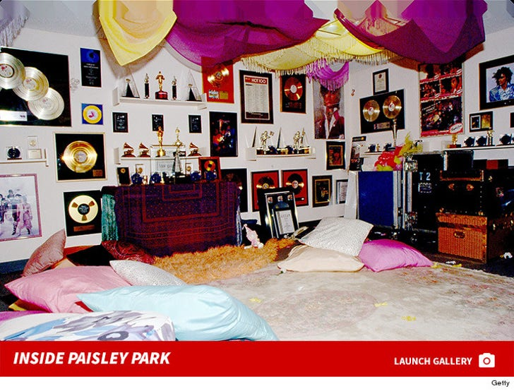 Inside Paisley Park