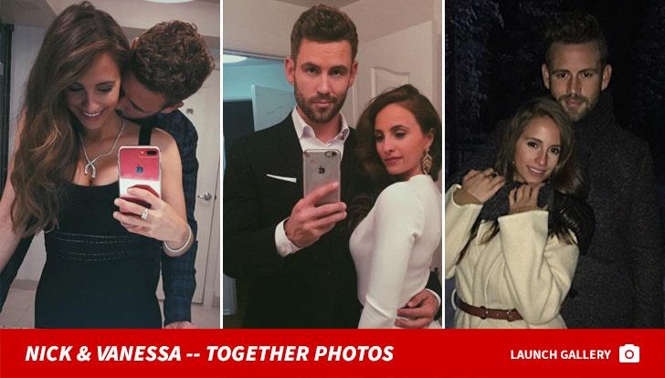 Nick Viall and Vanessa Grimaldi -- Together Photos