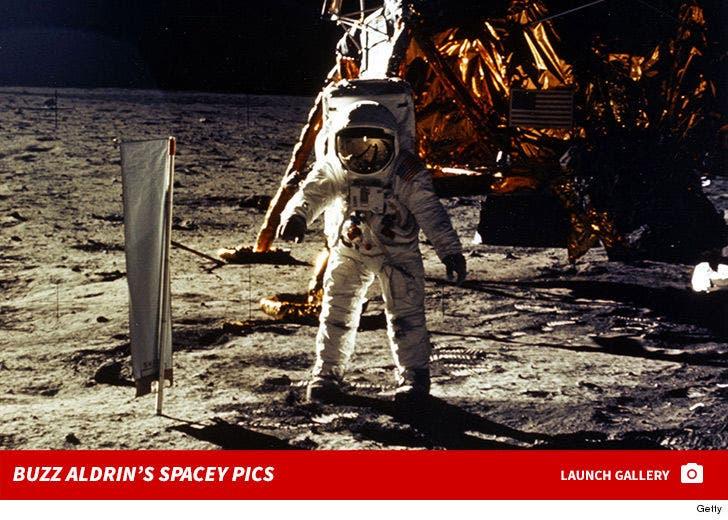 Buzz Aldrin's Spacey Shots