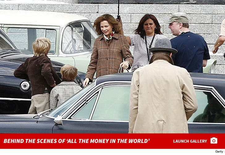 Behind the Scenes of 'All the Money in the World'
