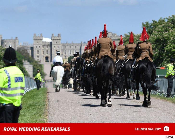 Royal Wedding Rehearsals