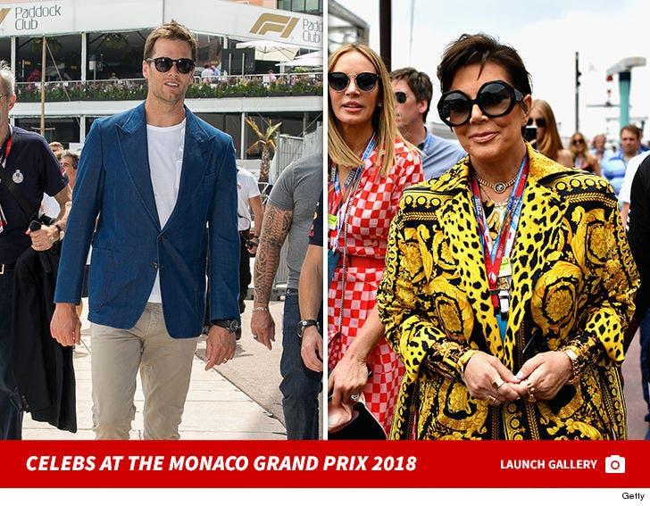 Celebs at the Monaco Grand Prix 2018