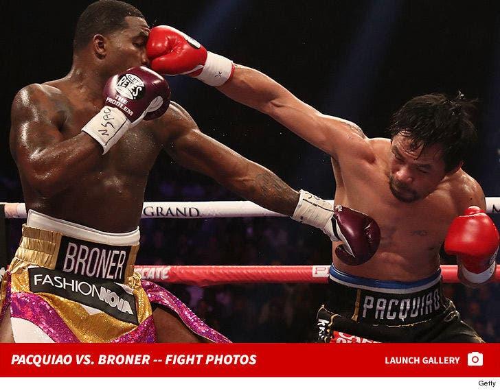 Manny Pacquiao vs. Adrien Broner -- Fight Photos
