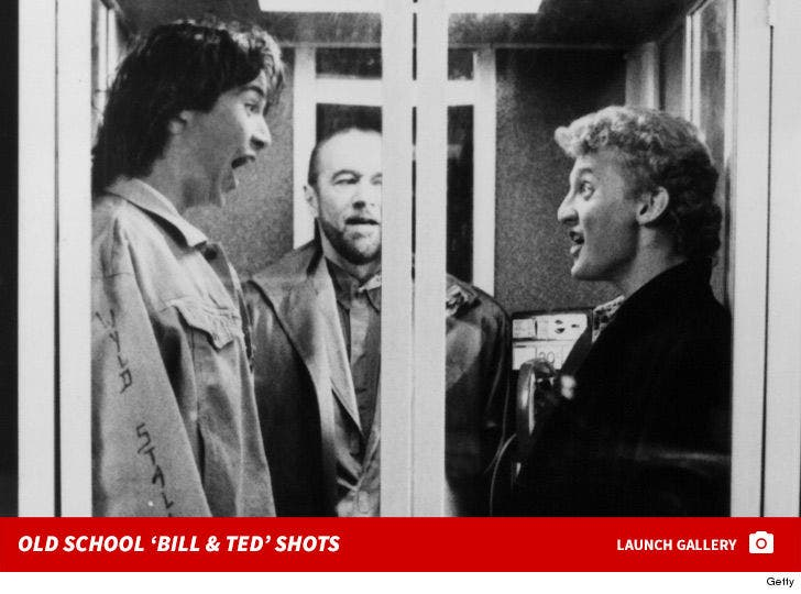 Old School 'Bill and Ted' Photos