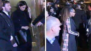 Meghan Markle Hits Fancy NYC Restaurant with Serena Williams