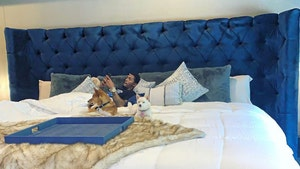 Lou Williams Gets Massive Bed, Enough Room for 2 Girlfriends!