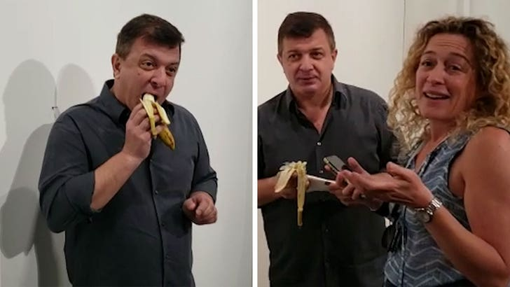 The $120K banana at Art Basel eaten by NY performance artist