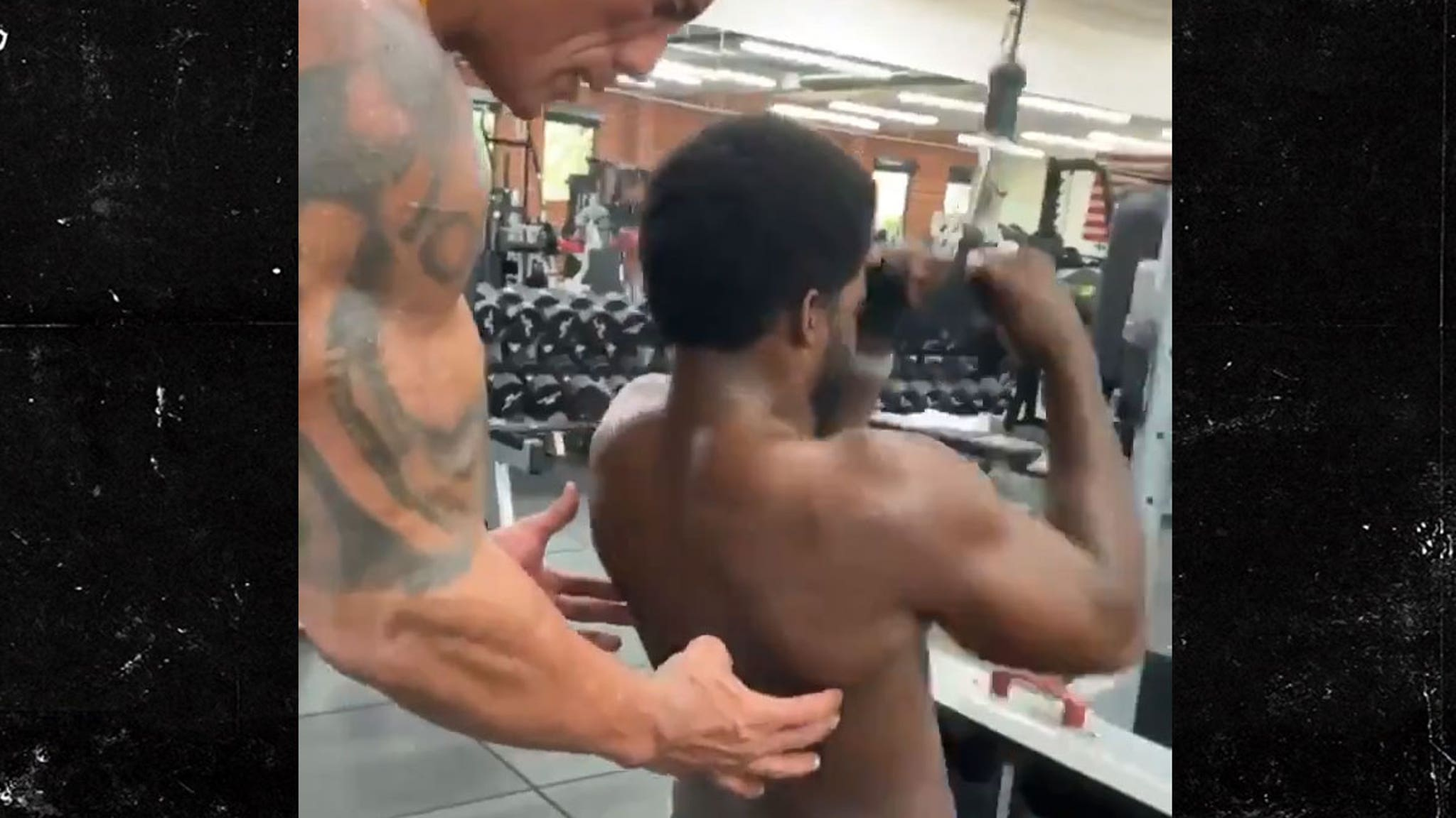 NHL's P.K. Subban Personal Training Sesh w/ The Rock ... I'm Jacked Too!