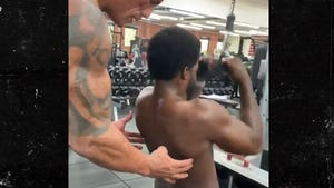 NHL's P.K. Subban Gets Personal Training Sesh from The Rock, I'm Jacked Too!