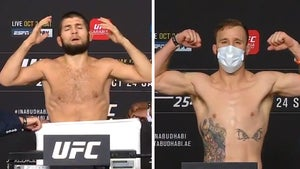 Khabib Nurmagomedov Strips Naked to Make Weight, Fight On For UFC 254!