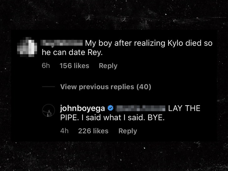 John Boyega Pisses Off 'Star Wars' Fans with 'Sexist' Joke About Rey - EpicNews