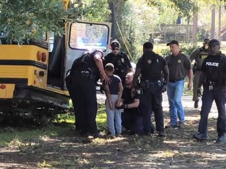 Boy Arrested for Stealing School Bus