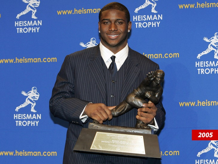Reggie Bush heisman trophy 2005
