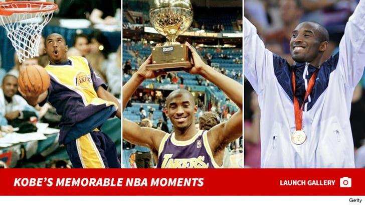 Kobe Bryant's Most Memorable NBA Moments