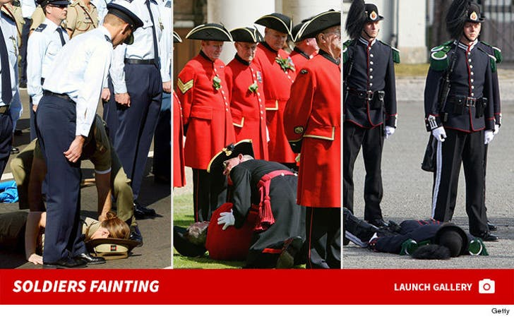 Soldiers Fainting