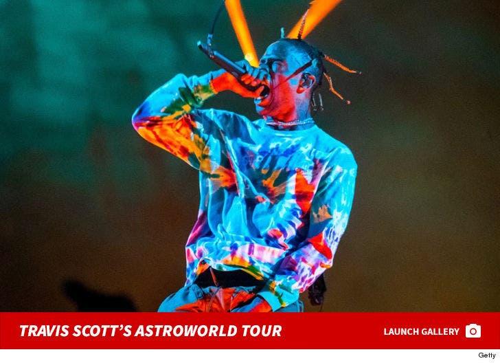 Travis Scott's Astroworld Tour