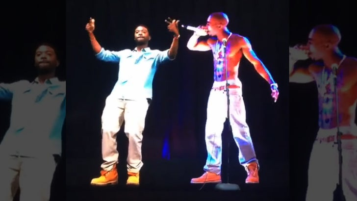 Ray J – Dance Off     With Tupac Hologram (VIDEO)