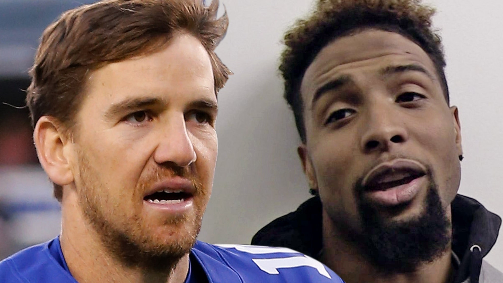 Eli Manning On Odell Beckham, 'I Won A Few Games Before He Was Here