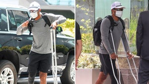 Tiger Woods Puts Weight On Surgically Repaired Leg During Trip To L.A.