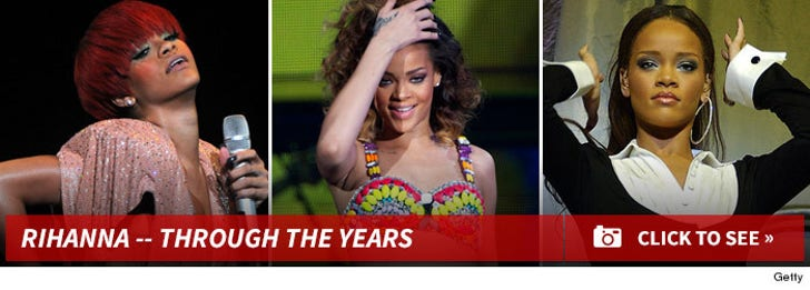 Rihanna -- Through The Years
