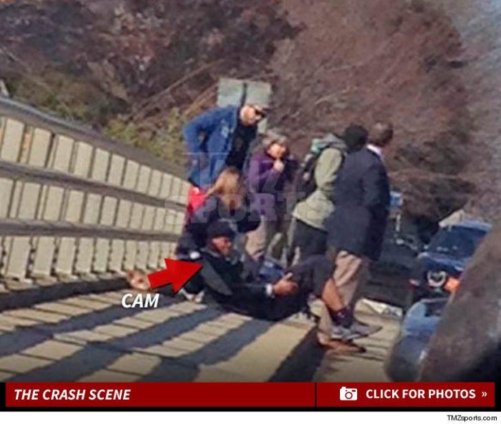 Cam Newton -- Injured in Car Wreck