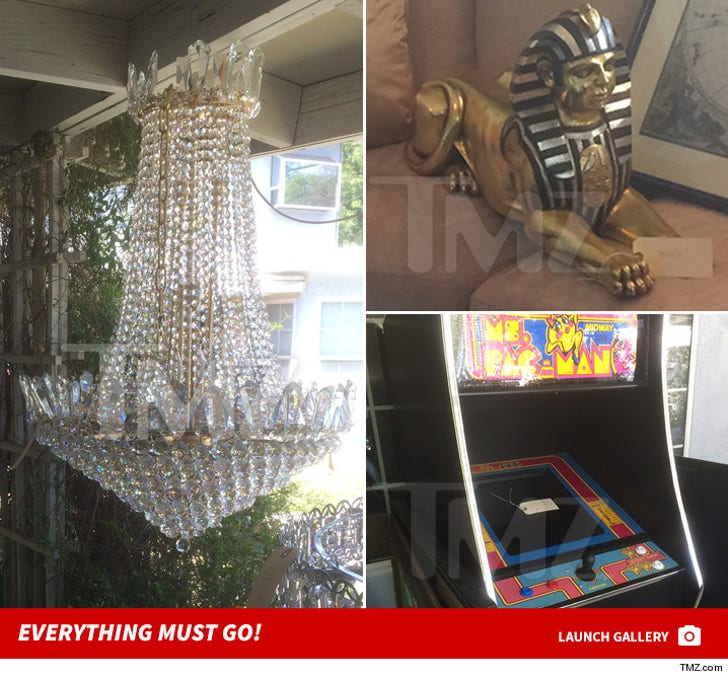 Tyga and Blac Chyna Estate Sale -- Everything Must GO!