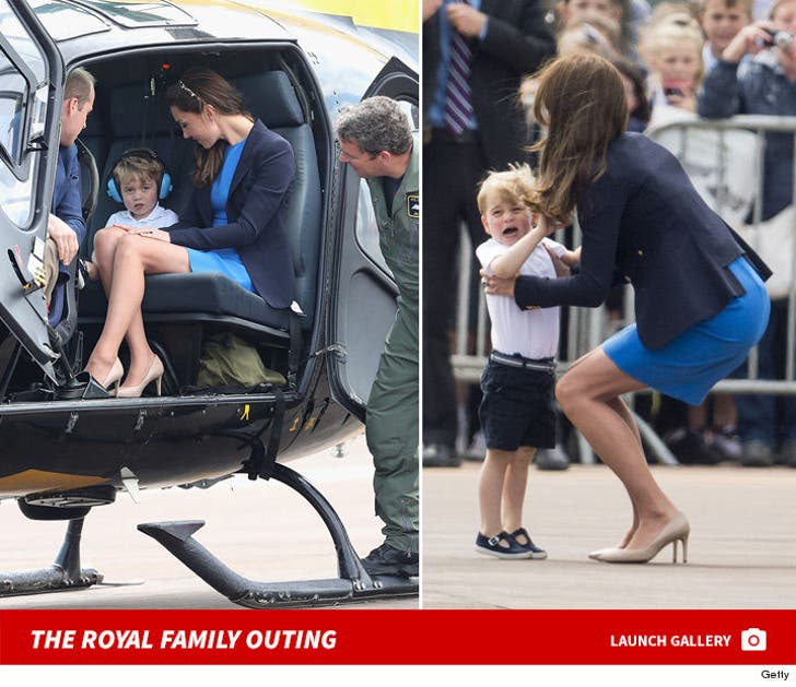 Prince George -- Fit to Have a Fit