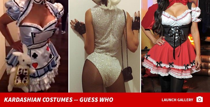 Kardashian Halloween Costumes -- Guess Who!