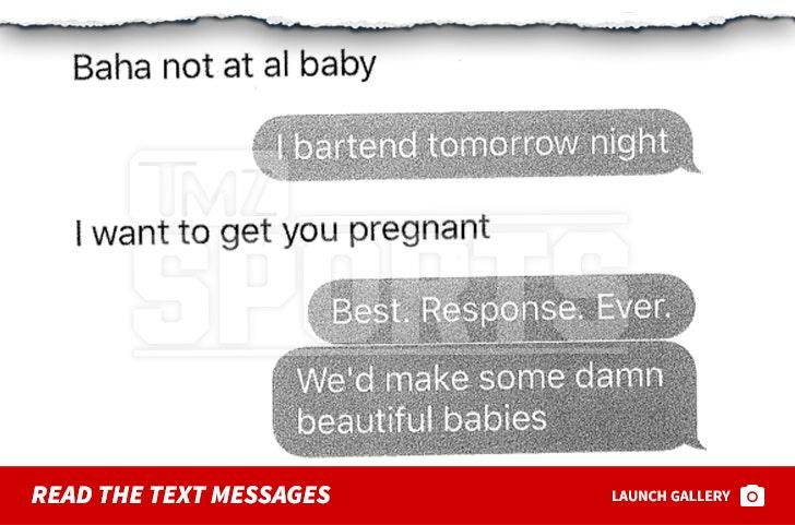 Fletcher Cox Text Messages