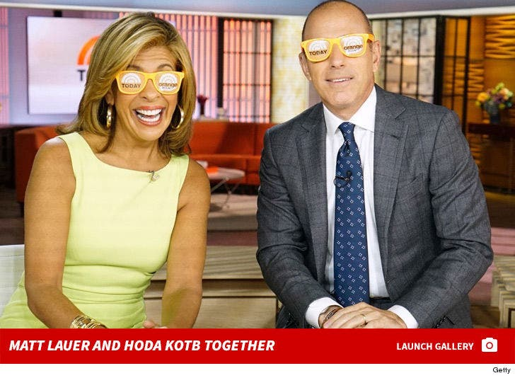 Matt Lauer and Hoda Kotb Together
