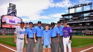 13-Year-Old Ump In Youth Baseball Brawl Gets VIP Treatment At Rockies Game