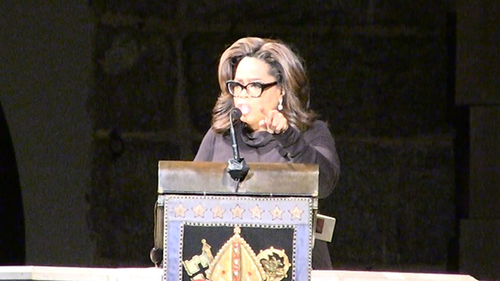 Oprah Honors Toni Morrison at Author's Celebration of Life