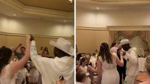Lil Nas X Crashes Wedding Reception at Disney World