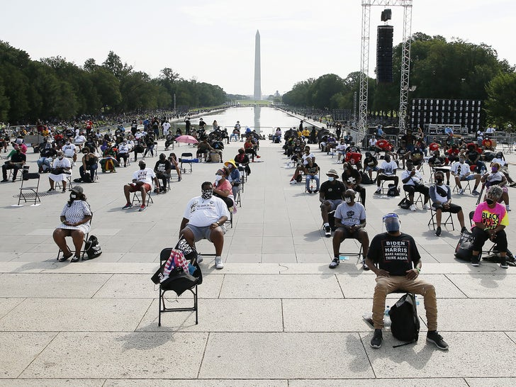 'Get Your Knee Off Our Necks' March in Washington DC