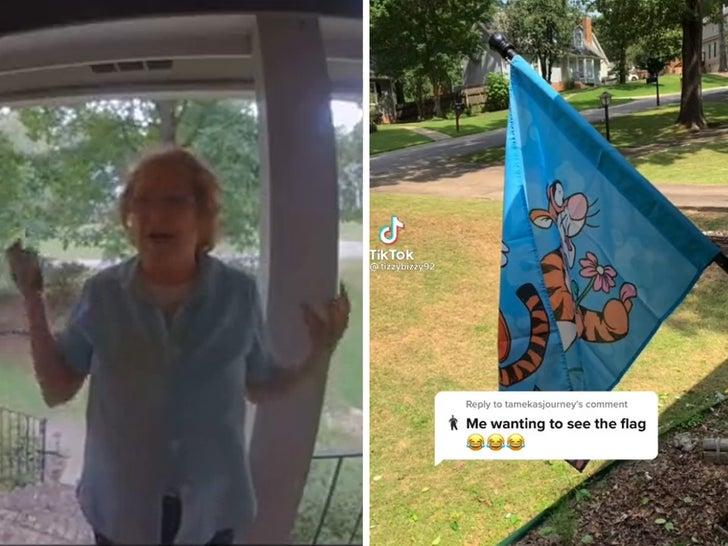 Tigger Flag 'Karen'