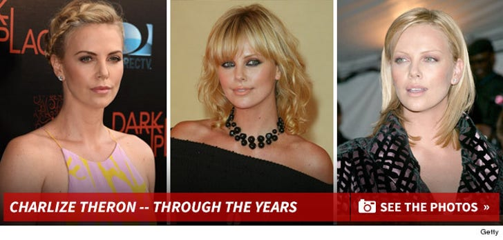 Charlize Theron -- Through the Years