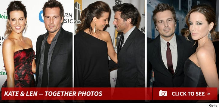 Kate Beckinsale & Len Wiseman -- Before the Split